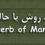قید روش یا حالت در انگلیسی –  Adverb of Manner